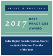 Frost & Sullivan - Analytics Company of the Year 2015